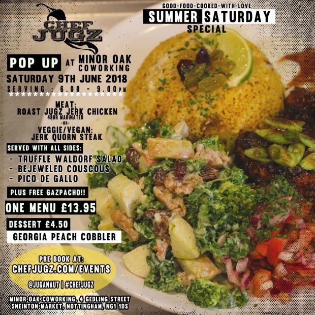 Minor Oak Popup Summer Saturday Special 9th June2018